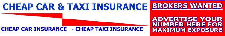 insurance for  taxi, cheap car and cheap taxi insurance in the uk